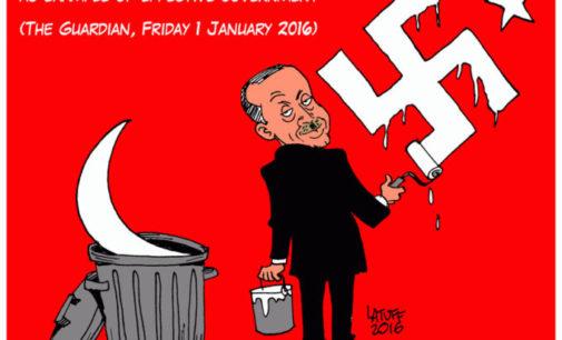 Turquia bloqueia site de cartunista brasileiro após críticas a presidente