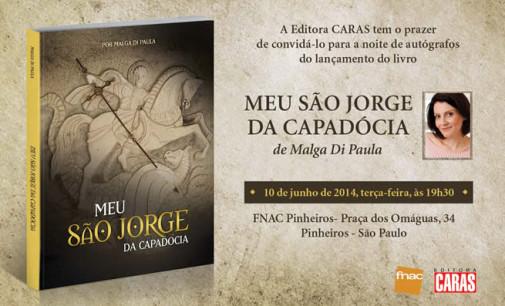Lançamento do livro da Malga Di Paula sobre a Capadócia