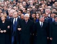 Presença de líderes mundiais em marcha de Paris é criticada