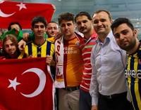 Carinho dos turcos residentes no Brasil na despedida do Alex