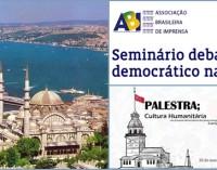 Seminário debate processo democrático na Turquia