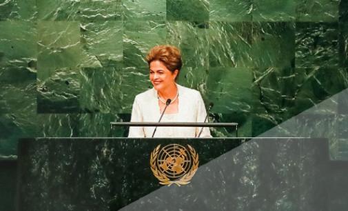Economia brasileira é mais forte, sólida e resiliente do que há alguns anos, afirma Dilma na ONU
