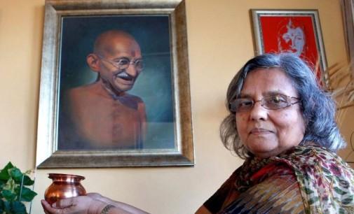 Neta de Gandhi enaltece Movimento Hizmet