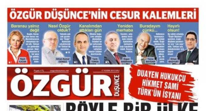 Equipe de jornal fechado pela Turquia ressuscita e abre unidade clandestina