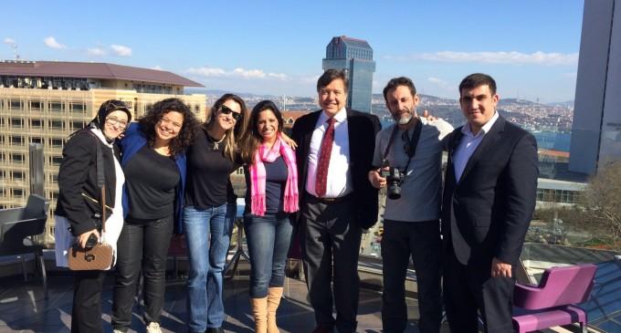 Questões políticas na Turquia atraem jornalistas brasileiros
