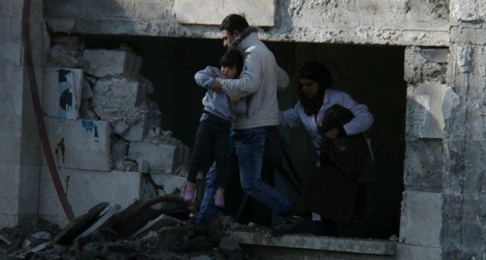 Azaz, epicentro da guerra na Síria