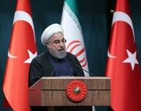 Rouhani pede por uma cooperação econômica mais próxima com a Turquia