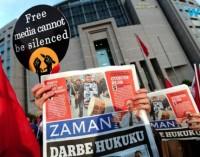 Zaman, jornal turco crítico a Erdogan, posto sob tutela