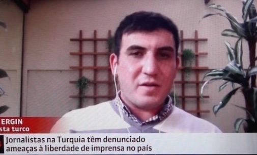 Jornalista turco comenta sobre a perseguição para imprensa na Turquia