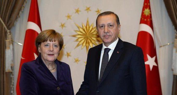 Merkel se encontrará com Erdogan