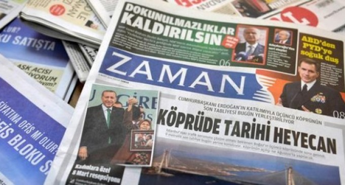 Após intervenção, jornal crítico ao governo turco muda linha editorial