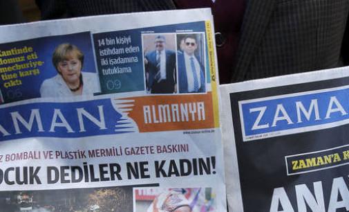 Vendas de jornal turco confiscado caem 99%