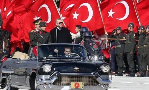 Repressão na Turquia: presas por panfletar
