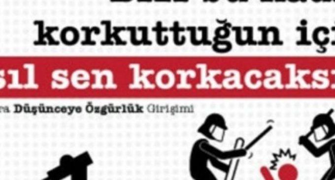 Intelectuais emitem declaração a Erdogan