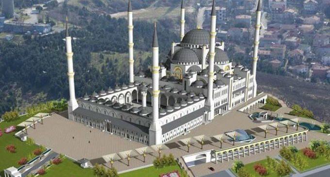 Erdogan inaugura mesquita gigantesca na Turquia