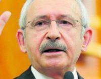 Líder do CHP multado por insultar Erdogan