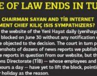 Yeni Hayat: Estado de Direito acaba na Turquia