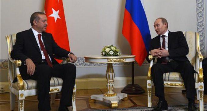 Erdogan a Putin: leve-nos a Xangai!