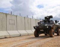 Turquia constrói muro de 239 km na fronteira síria