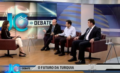 Especialistas analisam o futuro da Turquia no JC Debate