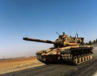 A campanha militar turca na Síria