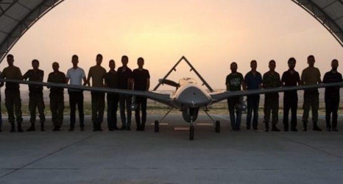 Turquia utiliza primeiro drone armado em operações