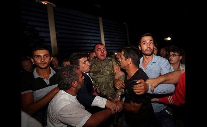 tentativa de golpe na Turquia