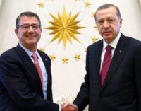 Secretário de defesa americano anuncia acordo em princípio sobre o papel da Turquia em Mossul