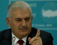 Premiê Yildirim responsabiliza o movimento Gulen pelo enfraquecimento da economia turca