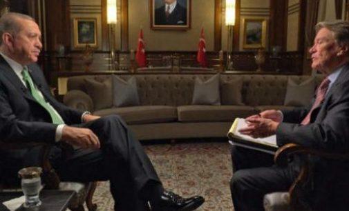 Erdogan diz que está desiludido com as políticas americanas durante o mandato de Obama