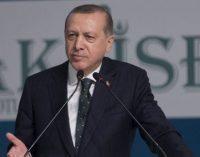 Erdogan diz que a Turquia entrou na Síria para acabar com o regime de Assad
