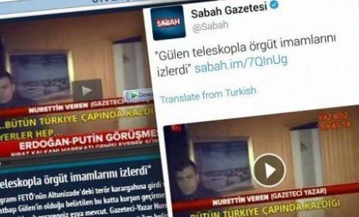 Jornal pró-governo alega que Fethullah Gulen monitora seus seguidores com um telescópio