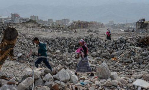 Sirnak na Turquia agora é nada além de escombros
