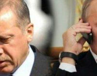 Erdogan e Putin discutem a evacuação de Alepo por telefone