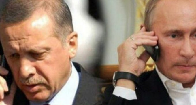 Erdogan e Putin discutem a crise humanitária em Alepo ao telefone