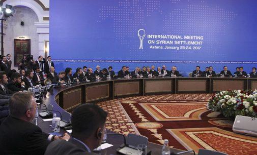 Astana: Turquia, Rússia e Irã devem criar mecanismo de auditoria do cessar-fogo
