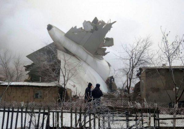 avião carga turco caiu acidente quirguistão quirguiz mata mortos cidade bisqueque
