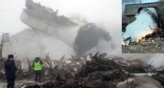 Avião de carga turco cai em cidade do Quirguistão, matando pelo menos 32