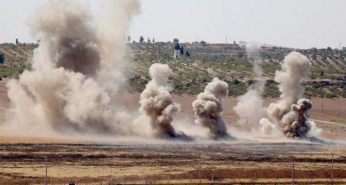 95 foguetes disparados da Síria atingem Kilis em 2016 levando a 25 mortes