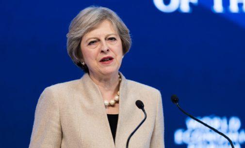 May, Premiê do Reino Unido, deve visitar a Turquia no domingo