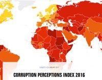 Turquia mergulha do 66º lugar para o 75º no Índice de Percepções de Corrupção de 2016 da TI