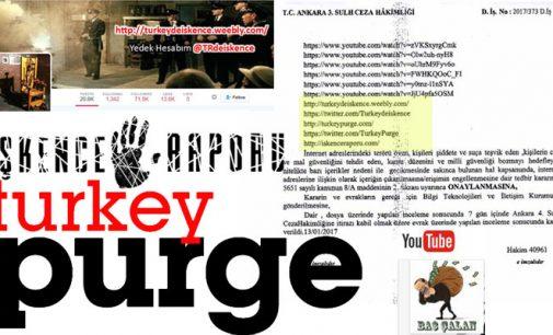 Tribunal turco proíbe acesso a sites que expõem corrupção, expurgo e tortura do governo nas prisões