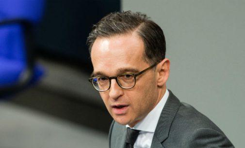"""Ministro da Justiça alemão Heiko Maas chama de """"absurdas"""" as acusações de nazismo feitas por Erdogan"""