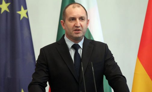 Presidente da Bulgária rebate Erdogan