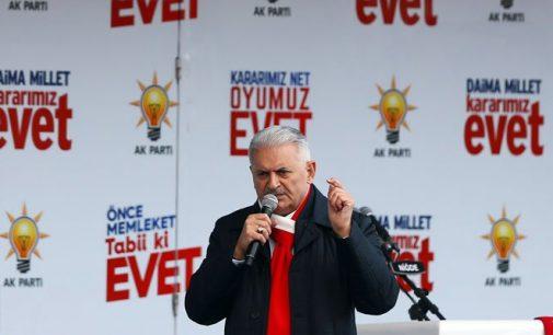 Premiê turco adverte a Europa sobre referendo: Não se intrometa!