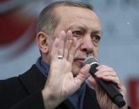 Erdogan aos turcos na UE: Tenham 5 filhos, vocês são o futuro da Europa