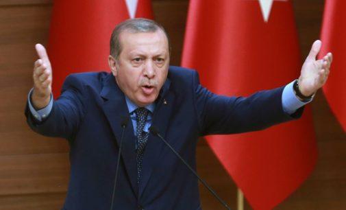 """Erdogan chama os jornalistas presos na Turquia de """"ladrões, estupradores de crianças, terroristas"""""""