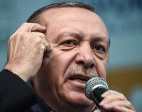 """Erdogan chama a União Europeia de """" aliança de cruzados """""""