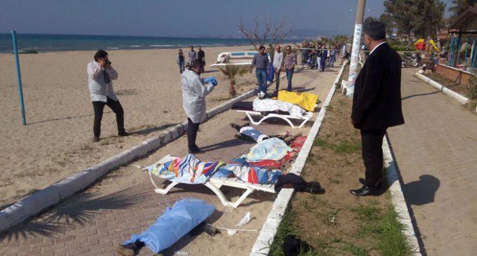 11 migrantes se afogam quando barco afunda na costa turca