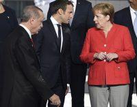 Erdogan e Merkel se reuniram durante a crise de Incirlik